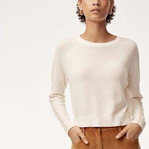 Aritzia - Artem Cropped Sweater